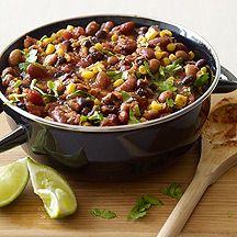 Super Easy 3-Bean Chili - 6 Points+
