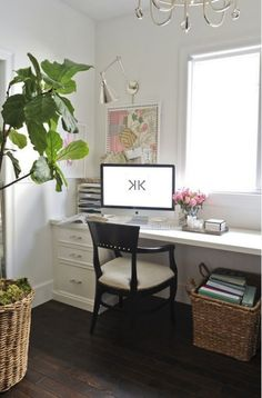 Like long table across the window concept.