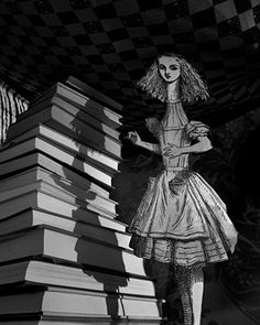 Curiouser and Curiouser, 1998, From Abelardo Morell's Alice in Wonderland series