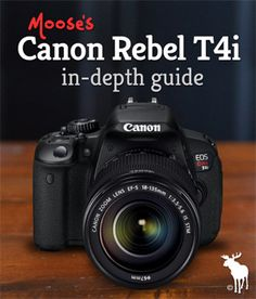EOS Rebel T4i DSLR! Built to make advanced photography simple and fun!