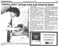 Jimmy John's; Charleston Illinois