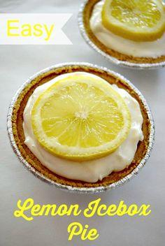 Easy no-bake lemon i