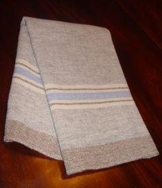 Merino wool baby blanket hand woven by Dianne by NordtFamilyFarm, $90.00