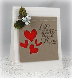 Poetic Artistry: Christmas card