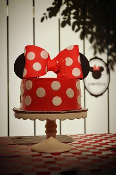 Minnie Mouse Birthday Party Ideas | Photo 27 of 64 | Catch My Party