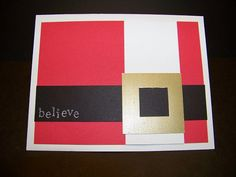 Santa Christmas cards by inkyfingercreations on Etsy, $3.99