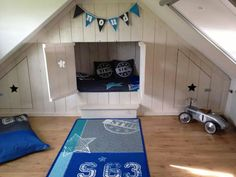 zolder on Pinterest  Attic Closet, Attic Spaces and Loft Conversions