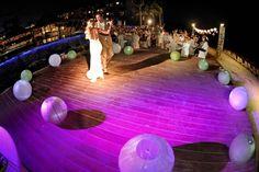 Alysia's wedding on the Beach at Dreams Riviera Cancun