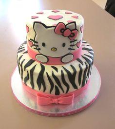 Hello Kitty Cake...birthday cake idea for a three year old?