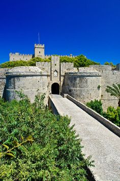 The D Amboise Gate In The Medieval Town Of Rhodes, Greece