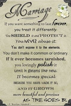 This is so true. Love isn't all you need to make a marriage work. It's about compromise and give and take and a whole lot more. BUT it's one thing that is worth all the work :)