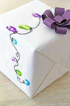 Fingerprint Light Wrapping Paper
