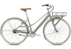 2012 Globe Live 2 Mixte.  The Live 2 is a light-duty utility bike offering classic urban style and functionality to carry groceries, a laptop, art supplies, or anything that suits your mood: with internal 8-speed gearing for low-maintenance performance, plus an easy-access mixte frame.