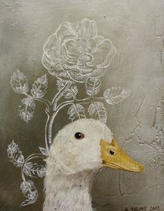 """""""Goose Plant"""" by Anne Siems"""