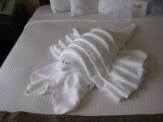 lobster towel fold #JoesCrabShack