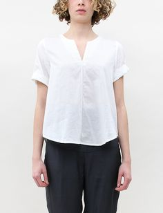 Hope Rescue Blouse- Nearly White