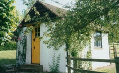 Roald Dahl's writing shed.