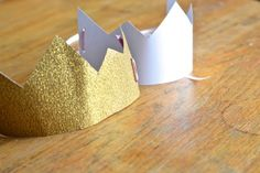 DIY Prince or Princess Birthday Party Crown