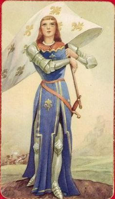 Jeanne d'Arc / Jungfrau von Orléans by dietherpetter, via Flickr
