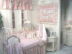 Chic Baby Bedding on Pinterest  Shabby Chic Baby, Simply Shabby Chic ...