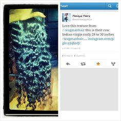 #YouKnowItsRealWhen our TALENTED sylists and customers continuously tell us about the great quality of our Indian and Chinese Remy!! We pride ourselves on offering you all the best in the business and won't let you settle for less!  Shout out to @mooreuniquehair for showin' love, as many of you do! #TeamWags appreciates ya   Shop online @ www.wagmanhair.com and be sure to click the 'Join My List' button on our FB page to become apart of our email list for our latest sales and discounts!