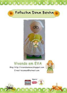 El Rincon Fofuchero: Fofuchas Abuela (con moldes)