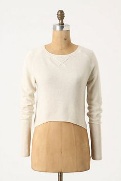 Great cashmere layering piece from Anthro. Update: Purchased!