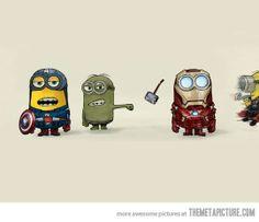 Despicable Avengers- ahhhh!!!