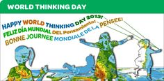 """Girl Scouts USA has released their award guides for 2014 World Thinking Day. The theme is girls worldwide say """"education opens doors for all girls and boys."""""""