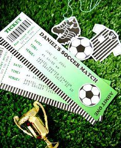 soccer parti, birthday parties, brazil parti, footbal parti, parti idea