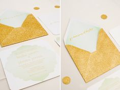 "Pinned from ""Fall Wedding Inspiration: Gold"""