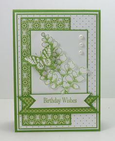 green is not my thing but I like this card