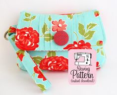 Pintuck Wristlet PDF Sewing Pattern pattern on Craftsy.com