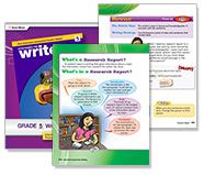 Grade 5: I'm an Expert Now Writing a Research Report  Lesson plans with student pages (Free!)