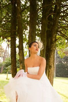 50s style bride