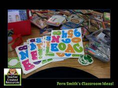 Fern Smith's Classroom Ideas Chevron and Shamrocks Bulletin Board From Teacher Created Resources #TeacherCreatedResources #TeachersFollowTeachers #FernSmithsClassroomIdeas