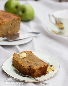 Egg Free Apple Cake with Nigella Seeds. This cake is also refined sugar free.