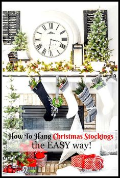 HOW TO HANG CHRISTMA