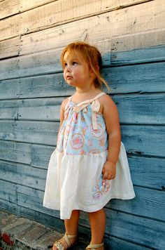 The Claire Twirl Dress. Girls gathered skirt by pureandlasting, $37.50