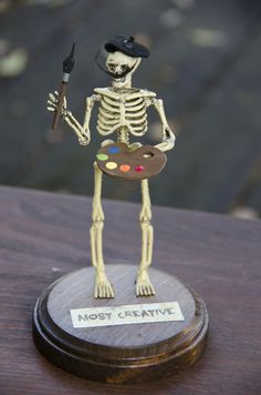Halloween Trophies.  For the annual Smith Spooktacular?!