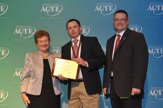 Region IV Career Guidance Award winner, Barrett Richardson of El Reno, Oklahoma. https://www.acteonline.org/general.aspx?id=5290