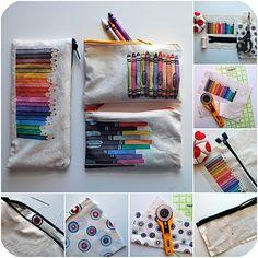crayon, craft, diy art, bag, diy christmas gifts
