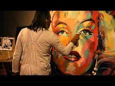 marilyn monro, morejust becaus, marilynvideo clip, norma jean, art school, monro art
