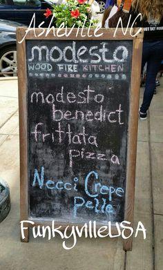 Modesto Pizza.. Asheville North Carolina aka #FunkyvilleUSA