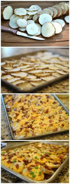 How To Cheesy Bacon Potato Bites