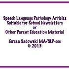 The School Newsletter: Strengthen Language Skills Through