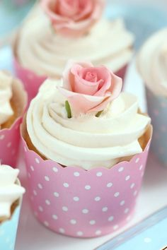 Pretty Cupcake Wraps