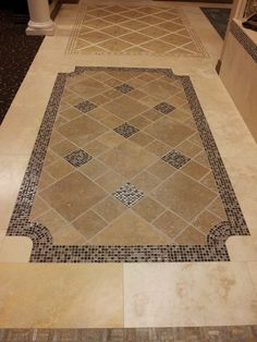 Tile floor designs