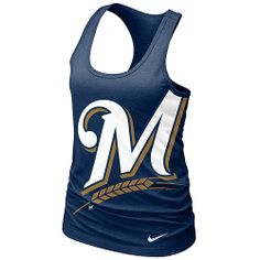 Loving this #Brewers racerback tank from the #Nike Spring Collection!