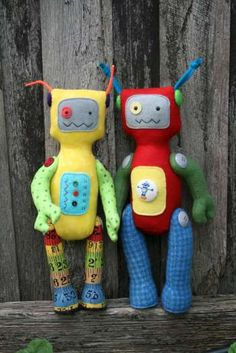 Robot softies, Joshua would love these
